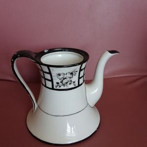 """Limoges France coffee pot 4x6 """" preowned no"""